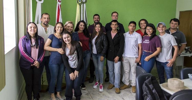 Campus recebe intercambistas do Peru e da Colômbia